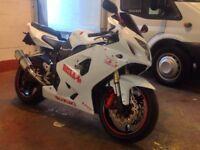 2005 GSXR600 K4, full mot, loads spent on this bike.