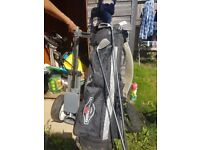 Callaway golf clubs, big berther, whole set up there is 12 golf clubs