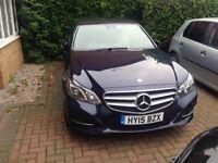 PCO Mercedes E Class for rent/hire for mini cab