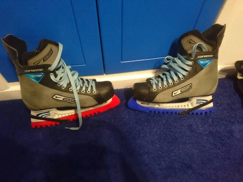 Nike ice skates size 10