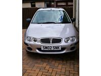 Rover 25 very low mileage