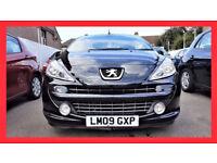 Convertible --- 2009 Peugeot 207 CC 1.6 HDi FAP GT --- Diesel --- 37000 Miles --- Low Mileage --- PX