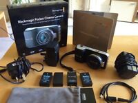 Blackmagic Pocket Cinema Camera + Accessories