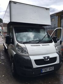 24-7 SHORT NOTICE MAN & LUTON VAN WITH TAIL LIFT. House/Office Removal & Delivery Services.
