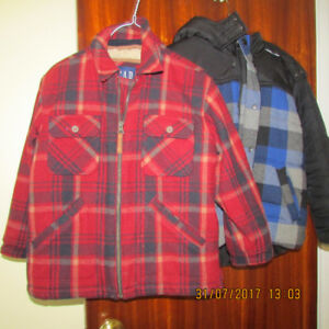 Boy's Winter Coat and sweater,size M