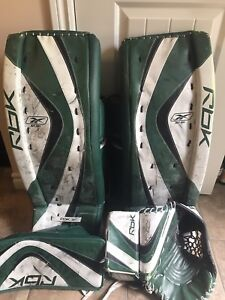 "34"" Reebok goalie set"