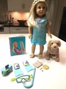 Retired American Girl Kailey Girl of the Year 2003 & accessories