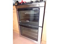 Zanussi ZCG662GXC 60cm wide Double Oven Gas Cooker