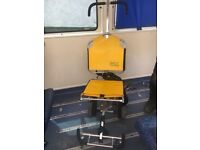 Wheelchair with van fixings