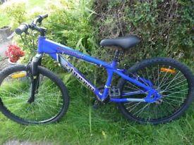 Ladies & Gents mountain bikes, 26inch wheels