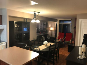One bedroom + den furnished apartment @ Ovation Square One