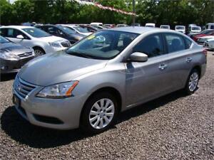 2014 Nissan Sentra S 5 Speed Manual Transmission with A/C
