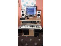 complete home beringer recording studio