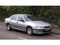 1999 Peugeot 406 1.8 Rapier 4 Door Saloon, One Owner from New, Low Miles, Must See!