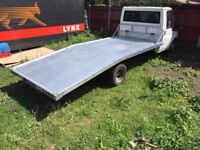 Ford transit aluminium recovery truck body with ramps 2000-2014