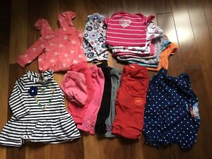 Baby girl clothing Lot - Fits 3 to 6 month old