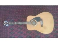 Yamaha f310 accoustic with neck repair