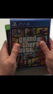 Looking for GTA 5 for ps4