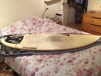 6ft FireWire dominator surfboard