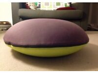 "3 ""Smartie"" pouffes, designed by Michael Young"