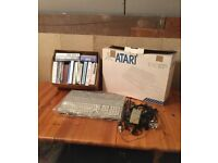 Atari 1040 STe Vintage Computer with Phillips monitor