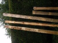 Reclaimed Fence Posts - 3 sizes - price per post