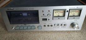 Sharp cassette deck