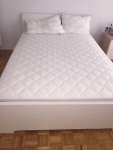 Double bed+ mattress