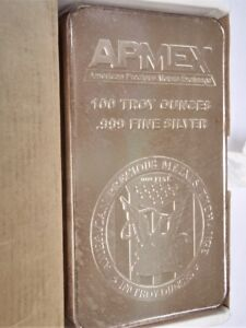 Bullion 100 oz Silver Bars & Maple Leafs for Sale
