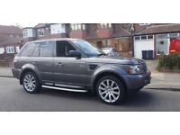 LAND ROVER RANGE ROVER SPORT 2.7 TD V6 HSE 5DR DIESEL AUTOMATIC FULL SERVICE HISTORY