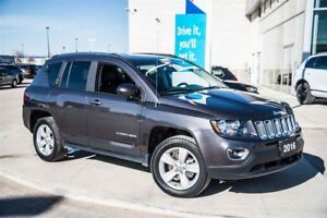2016 Jeep Compass 4x4 High Altitude- Sunroof