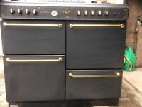 Hotpoint Burlegh Range Dual Fuel Cooker