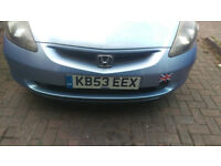 HONDA JAZZ 2004,LONG MOT,JUST SERVICED,GREAT RUNNER,ENGINE,CLUTCH,GEARBOX IN GOOD CONDITION