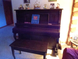 Vintage Player Piano- Over 100 Years Old-Campbellford