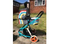 COSATTO NEW WAVE 3 in 1 travel system very good condition