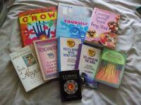 Box of assorted self awareness books