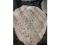 Celtic Wall Mounted Stones