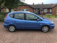 2007 57 CHEVROLET TACUMA 2.0 CDX PLUS AUTO BLUE MPV AUTOMATIC