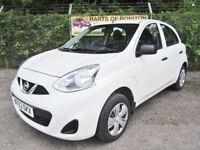 Nissan Micra 1.2 Visia 5DR (white) 2013