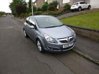 For Sale :- Vauxhall Corsa 1.2SXi Silver/Grey colour
