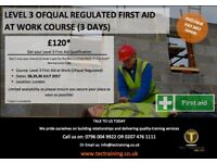 First Aid at Work Level 3 (QCF) SPECIAL OFFER Only £120.00 | East London | Docklands | Canning Town