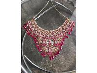 Asian bridal jewellery set