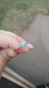 Beautiful Engagement /promise ring