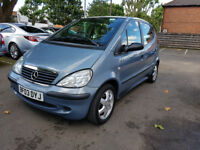 2003 MERCEDES BENX A140 1.4 (LWB) - EXCELLENT SERVICE HISTORY - 63,000 MILES