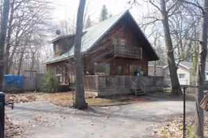 Power of Attorney Sale. Log Home, River Acc., N/gas at Lot Line
