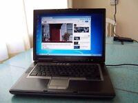 Bargain! Very quick fresh Dell Latitude Laptop 15.4 Intel Core 2 Duo WIFI,80GB HD With 3GB RAM,Win7