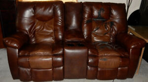 Electric Loveseat Recliner/Rocker