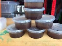 Live Bloodworm 200ml Tubs (10x amount in regular bags)