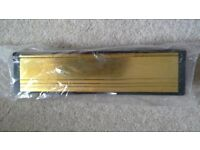 """10"""" letterplate Gold (Polished)"""