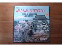 Madam Butterfly Victoria De Los Angeles & Jussi Bjoerling vinyl box set